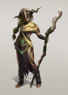 Whetu Bakira, chieftain of a powerful tribe of druids that occupy the forest surrounding Tenmills. Friendly, curious, highly intelligent and surprisingly well-informed, she and her nation are actually in a mutual agreement of economics and resources with Tenmills, supporting each other through various means.