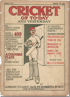 British Museum poster: Cricket of Today