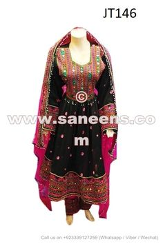 Beads Work Afghani Bridal Clothes Pashtun Nikah Event Dress - Saneens Online Store