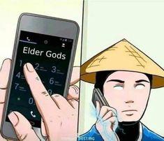 I mUsT cOnSulT wItH tHe ElDeR gOdS Scorpion Mortal Kombat, Raiden De Mortal Kombat, Mortal Kombat Comics, Mortal Kombat Memes, Sub Zero, Anime Meme, Lord Raiden, Liu Kang And Kitana, Akali Lol