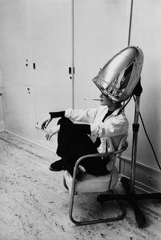 lacloserie: Audrey Hepburn smoking 1953 Mark Shaw