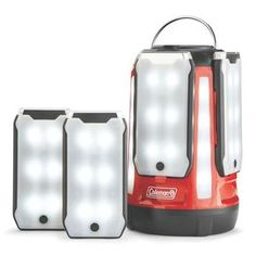 Light up your campsite or take a nightime hike with friends with this versatile Coleman LED Lantern, a must-have for all your outdoor adventures. Quad, Coleman Lantern, Led Lantern, Camping Lanterns, Led Panel, Battery Operated, Tool Box, Flashlight, Steel Frame