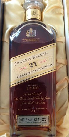 Johnnie Walker 1820 : The Whisky Exchange Good Whiskey, Cigars And Whiskey, Whiskey Drinks, Bourbon Whiskey, Whiskey Bottle, Tequila, Vodka, Wine And Liquor, Liquor Bottles