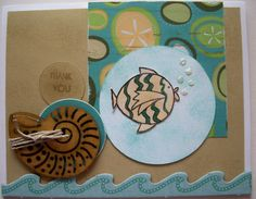 Thank You Footloose Card  #CTMH Stamp, Scrap, Craft with Judy