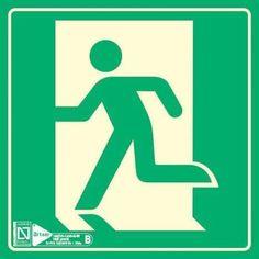 Rettungszeichen ORIGINAL Protecticure Sammelpunkt//Fluchtweg Schild Hochwertiges Sammelstelle Schild wetterfest aus Kunststoff 40 x 40 cm Sammelstellenschild auch f/ür Au/ßen. ASR A1.3//ISO 7010