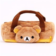 Rilakkuma brown bear sports bag plush pencil case by San-X망고카지노 HERE777.COM 망고카지노 망고카지노 망고카지노 바카라