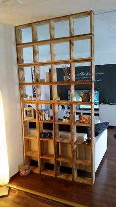sideboards raumteiler aus europaletten on pinterest side tables pallets and wood. Black Bedroom Furniture Sets. Home Design Ideas