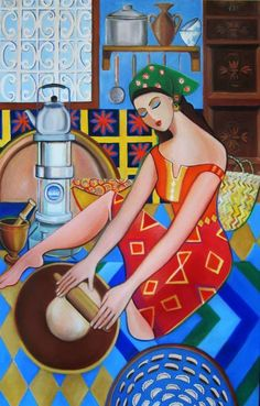 Iraqi Art..by nadiia owse I think ,if Im wrong please correct me