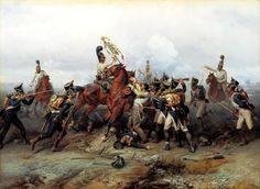 Cavalry Regiment at the Battle of Austerlitz in 1805,