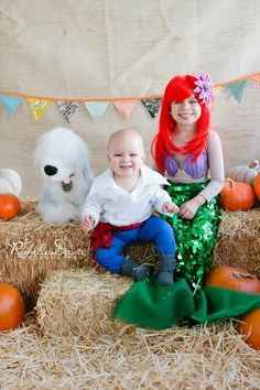 Little Mermaid Family Halloween Costumes. King Triton. Ursula ...