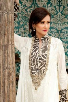 Women Casuals Collection for EID 2012 by Aamna Aqeel (7)