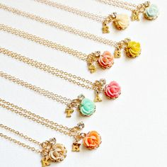 Initial Necklace Personalized Necklace por NestPrettyThingsShop