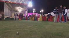Drone recorded wedding programme