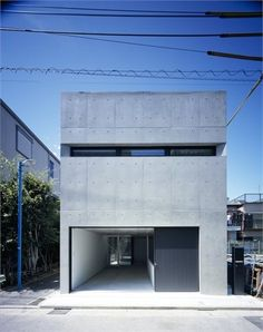Grow by APOLLO Architects & Associa. Grow is a minimal home located in Shinjuku-ku Tokyo designed by APOLLO Architects & Associates and completed in Minimalist Architecture, Japanese Architecture, Amazing Architecture, Interior Architecture, Minimalist Design, Tokyo Architecture, Installation Architecture, Architecture Today, Architecture Images