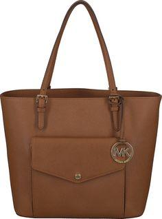 c6f15c4d52c6 Cognac Michael Kors Handtasche JET SET ITEM LG PKT MF TOTE Designer  Taschen, Jet Set