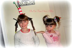 Plus One, Times Eleven Million: Dr. Seuss Week - Crazy Hair Day