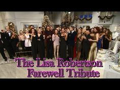 The Lisa Robertson Farewell Tribute