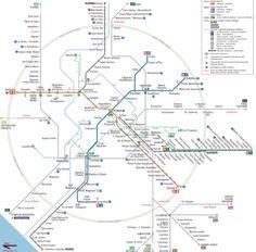 Rome Metro Map: captura de pantalla