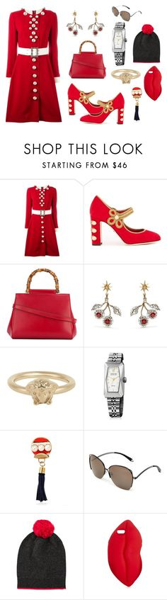"""""""Good look👌👌"""" by jamuna-kaalla ❤ liked on Polyvore featuring Dolce&Gabbana, Gucci, Versace, March LA.B, Sonia Boyajian, Victoria Beckham, Neiman Marcus, STELLA McCARTNEY and vintage"""