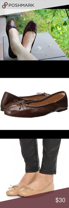 San Edelman flats Sam Edelman Felicia - Women's Flat Shoes : Brown: Be admired for your adorably-chic style in the Sam Edelman Felicia flat! Available in a variety of premium uppers. Slip-on design with elasticized collar for all-day comfort. Round ... Sam Edelman Shoes Flats & Loafers