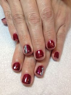 CND Shellac and custom art by Kimberly Grove -Jan 2014