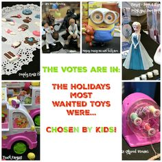 Find out which toys kids want under the tree this holiday season!  #ChosenByKids #TheList Some great toys are featured!  AD