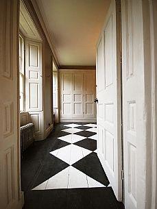 Classic Hallway, Hand Painted Floor