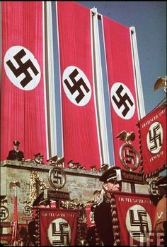 Nazism, commonly known as National Socialism (German: Nationalsozialismus), refers primarily to the ideology and practices of the Nazi Party under Adolf Hitler; Hiroshima, Nagasaki, Fukushima, Nuremberg Rally, History Of Germany, Nazi Propaganda, Germany Ww2, The Third Reich, German Army