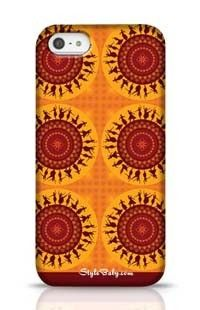 Illustration Of Indian Classical Dancer Apple iPhone 5 Phone Case