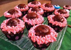 Receita Cupcake de chocolate simples