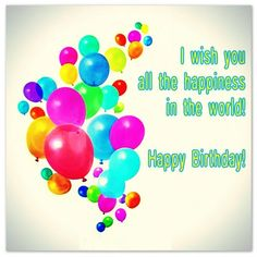 Happy Birthday Cards Images and Greetings with Messages