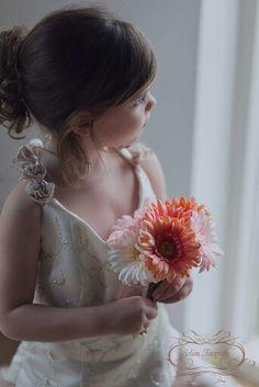 girl in mommy's weddingdress, natural light photography, fine Art