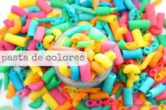 Pasos para hacer tu pasta de colores!