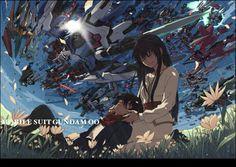 Setsuna・F・Seiei(刹那・F・セイエイ)& Marina Ismail(マリナ・イスマイール)GUNDAM 00