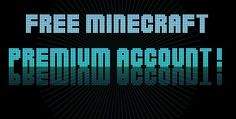 Free minecraft premium account generator