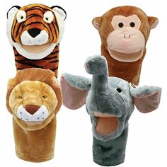 Get Ready Kids Bigmouth Zoo Puppet Set >>> Want to know more, click on the image. (This is an affiliate link) #BabyToddlerToys
