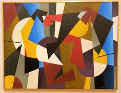 Concretion, Oil on canvas, George L. Atlanta Museums, High Museum, Atlanta Georgia, Oil On Canvas, Quilts, Abstract, American, Painting, Art