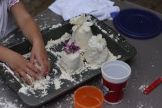 cloud dough - 30 minutes of fun!