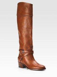 Ralph Lauren Collection - Sahara Riding Boots - Saks.com  (i got the chocolate brown, much cuter)