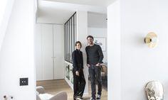 The Socialite Family | Jessica et Hugo Mulliez chez eux, dans le 9ème arrondissement parisien. #family #famille #portrait #meet #rencontre #paris #hugomulliez #artsper #jessicamulliez #poinçon22 #homeinterior #homedesign #art #architecture #home #thesocialitefamily