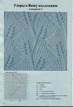 Knitting stitches sweaters beautiful 37 new ideas - Her Crochet Lace Knitting Stitches, Lace Knitting Patterns, Knitting Charts, Lace Patterns, Baby Knitting, Stitch Patterns, Knitting Machine, Crochet Shawl, Crochet Baby
