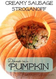pumpkin dinner