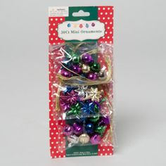 christmas ornament mini 30 count Case of 72