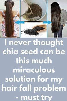 I never thought chia seed can be this much miraculous solution for my hair fall problem - must try Today I will share an amazing hair growth treatment at home. With this remedy, you can grow your hair super fast. 1st remedy- Ingredients you will need- ¼ cup of coconut milk 1 tablespoon of chia seeds Method- 1. Take ¼ cup of coconut milk in a bowl, then add 1 tablespoon of chia seeds in …