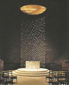 Harry Bertoia - alter in chapel at MIT