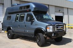 Sportsmobile Custom Camper Vans - 2012 Ford 4x4 Extended Body Texas