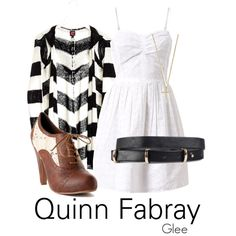 """Dress like ... Quinn Fabray"" by justbeaquinn on Polyvore"