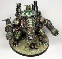 Nurgle Demon Engine #Warhammer40000 #Chaos