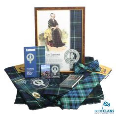 A selection of Clan Lamont Products at ScotClans