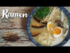 Cómo hacer ramen auténtico en casa paso a paso - YouTube Tonkotsu Ramen, Deli, Crockpot, Ethnic Recipes, Recipe Ideas, Food, Youtube, Salads, Home